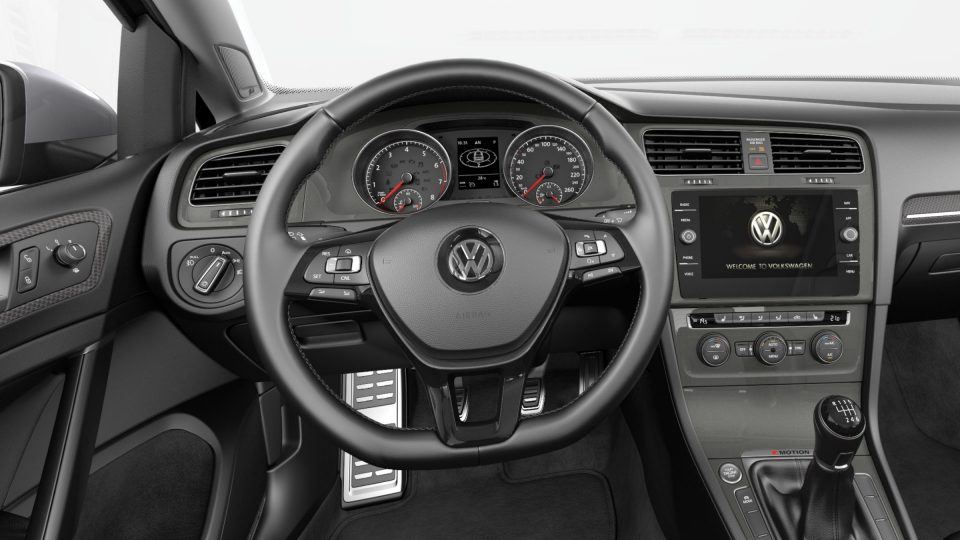 2018 Golf Alltrack multifunction steering wheel