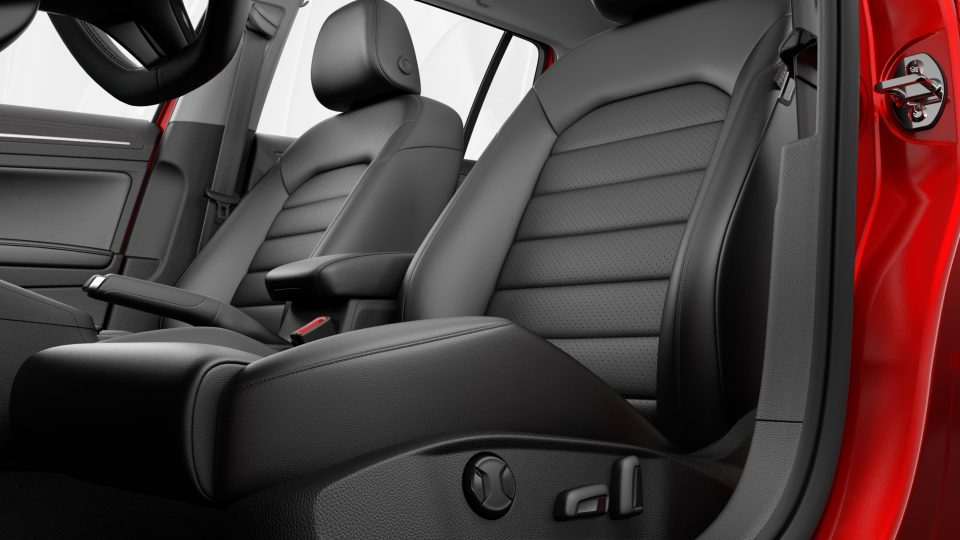 2018 Golf Alltrack power seats